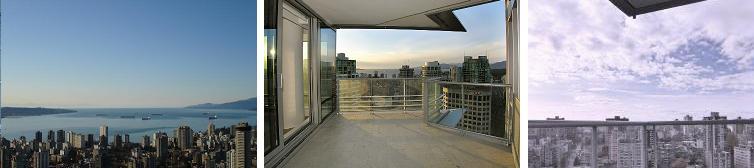 Shangri-la Vancouver views 1-3