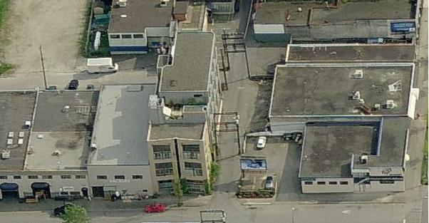234 E 5th Ave Mount Pleasant Loft building arial view