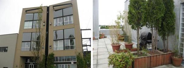 234 E 5th Mount Pleasant Loft building Granite Block front views