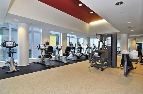 Gym at W Pender Place