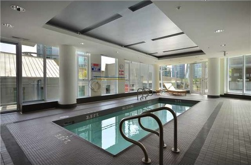 Pool at W Pender Place