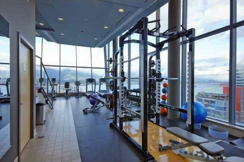 Rooftop Atrium Gym at Ceilo