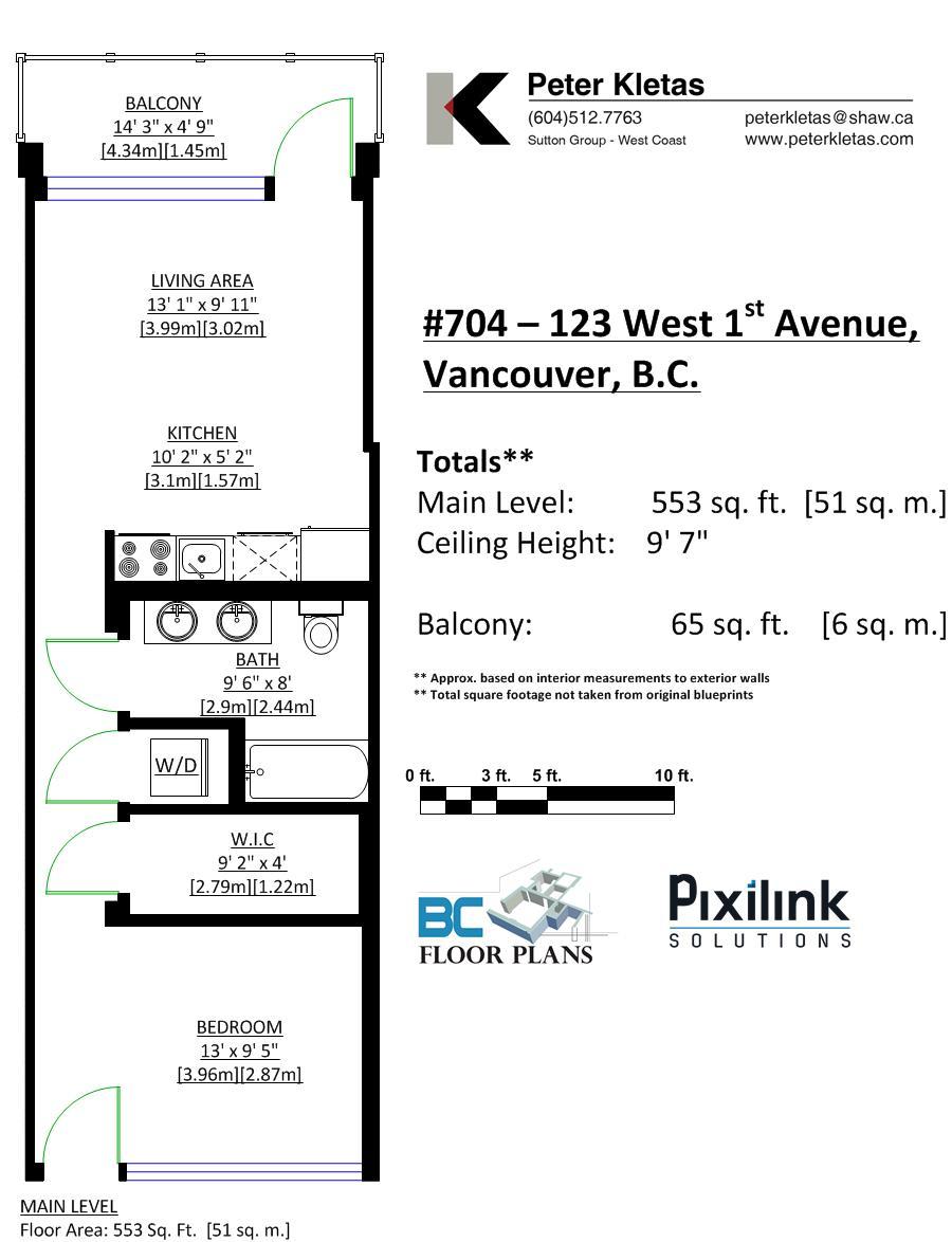 704 - 123 W 1st Avenue, Vancouver