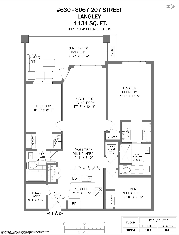 630 8067 207 STREET, Langley, BC Floor Plan